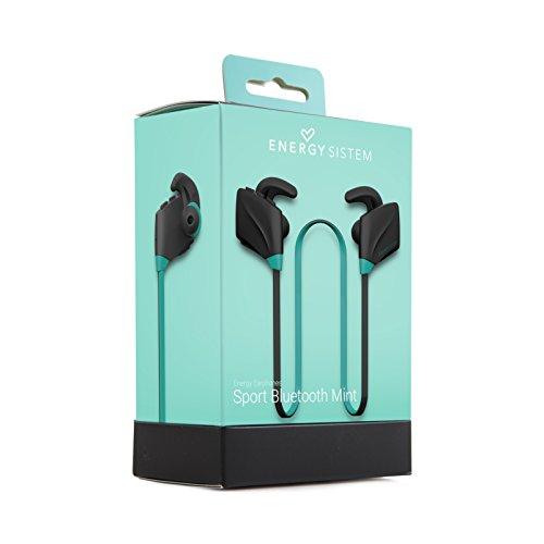 Energy Sistem Sport - Auriculares de Contorno de Cuello (Deportivo, Estero, sin Cables, Manos Libres, Bluetooth) Color Mint