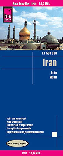 Reise Know-How Landkarte Iran (1:1.500.000): world mapping project: reiß- und wasserfest (world mapping project)