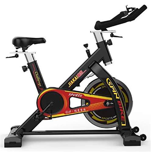 Lcyy-Bike Addestratori per Bicicletta Manuale Regolabile Resistenza 13 kg Volano Cardio Allenamento con Display Multifunzionale E Porta Tablet Manubrio Regolabile E Altezza Sedile