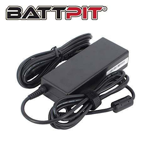 BattPit 90W Laptop Charger for Toshiba Satellite A300 C50 C70 C75 C660 C850 C855 C870 L70 L300 L500 L555 L650 L655 L830 L850 L855 L870 with UK 3 Pin Power Cord [19V 4.74A]