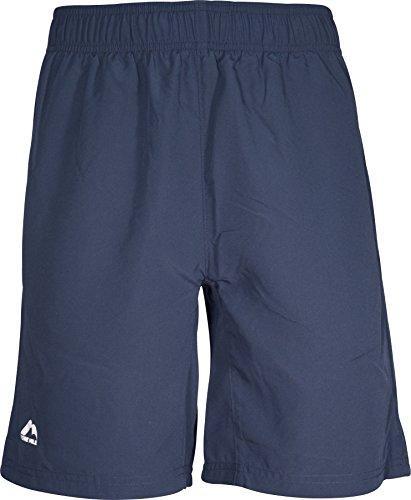 More Mile Active Short de course pour homme Bleu marine 22,9 cm, Homme, bleu, Medium