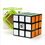 Dayan GuHong 3x3x3 Magic Cube Speed Cube Puzzle Cube for Children Adults Color Black