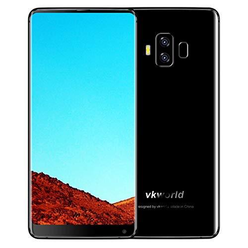 Vkworld S8 4G Dual Sim Smartphone - 18:9 Aspect Ratio, 5.99 Inch FHD, 5500 mAh, Face ID, 4GB RAM, 64GB ROM, Black