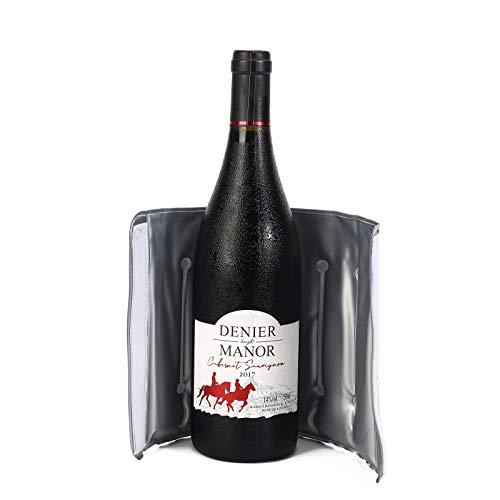 Raffreddatore per vino, buste di raffreddamento rapido attivo per bottiglia di vino, regali di vino e accessori, riutilizzabili