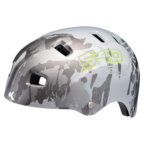 K-E-D Fahrradhelm 5Forty Extrem leicht, top belüftet und sehr Gute Passform - Allround-Helm in robuster maxSHELL- Technologie und Quicksafe-System (White 540 Matt)