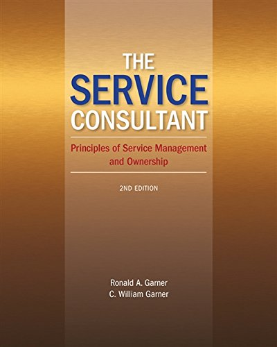 The Service Consultant: Principles of Service Management and Ownership