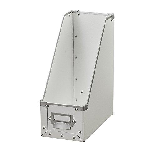 ナカバヤシ 収納ボックス ストックボックス スタンドタイプ ホワイト FBD-6-W