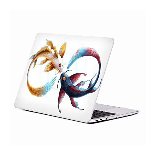 Head Case Designs Oficial Jonas JoJoesArt Jödicke Bond Eternal Koi Vida Silvestre Carcasa Rígida Compatible con Macbook MacBook Pro 13' A1989 / A2159