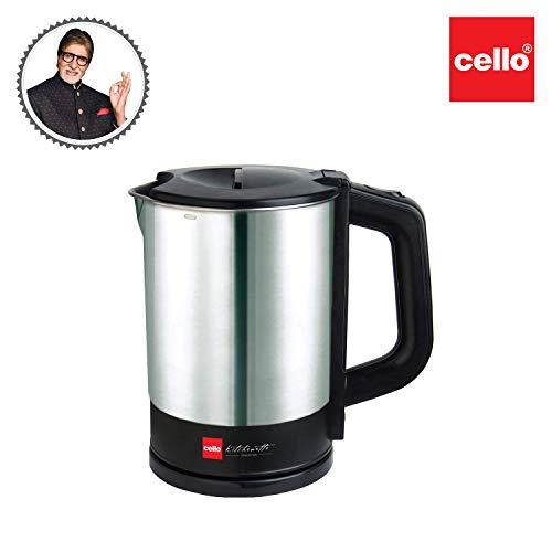 Cello Electric Kettle 1 Ltr 900, 1200W