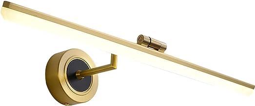 BBZZ Aan de muur gemonteerde spiegel voorlicht, anti-corrosie en anti-roest badkamerverlichting, stijlvol en modern make-u...