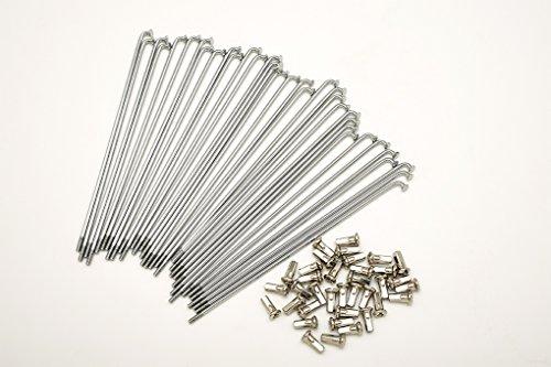 Kit 40 rayons et Nipples diamètre 3,5 mm Longueur 245 mm auto-réglable 90 °