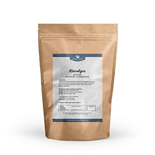Krauterie Kieselgur in sehr hochwertiger Qualität, frei von jeglichen Zusätzen, für Pferde, Hunde oder Katzen – 100 g