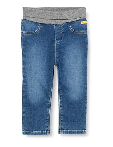 Steiff Baby-Jungen Jeanshose Jeans, Mood Indigo, 086
