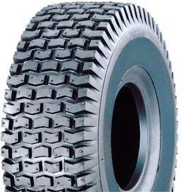 Reifen inkl. Schlauch 15x6.00-6 4PR ST-50 für Rasentraktor Aufsitzmäher