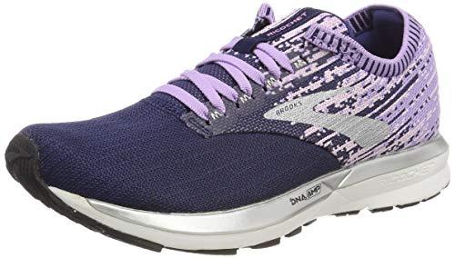 Brooks Ricochet, Zapatillas de Running para Mujer, Morado (Purple/Lilac/Navy 575), 39 EU