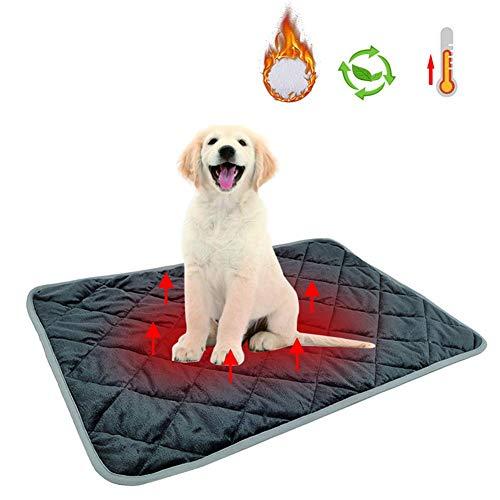 Almohadilla Térmica Para Mascotas,Almohadilla Térmica Eléctrica Para Perros,Manta Para Perro Cama Para...