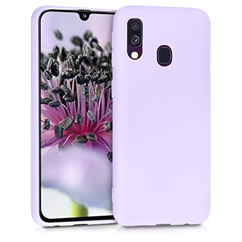 kwmobile Hülle kompatibel mit Samsung Galaxy A40 - Handyhülle - Handy Hülle in Lavendel