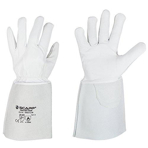 SCAPP Protection WIG Schweißerhandschuhe -STANDARD- Schweißhandschuhe (9 / L)