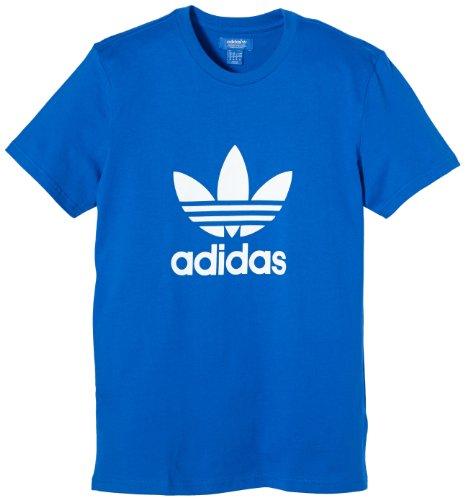 adidas T-shirt Originals avec logo adidas trèfle pour homme Bleu Bleu Medium
