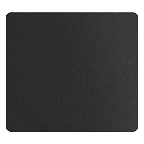 Mouse Pad 8.0×7.5×0.12 inches Premium-Textured Non-Slip Rubber Base Mouse Mat Mousepad for Office & Home, Black (1 Pack)