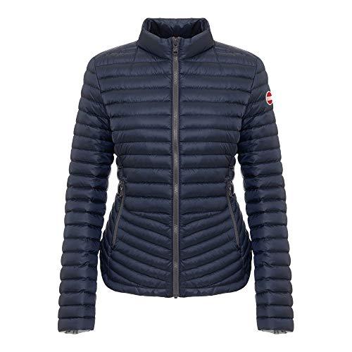 COLMAR Ladies Down Jacket 2141Z Punk - Daunenjacke, Größe_Bekleidung_NR:44, Farbe:Navy Blue-Light Steel
