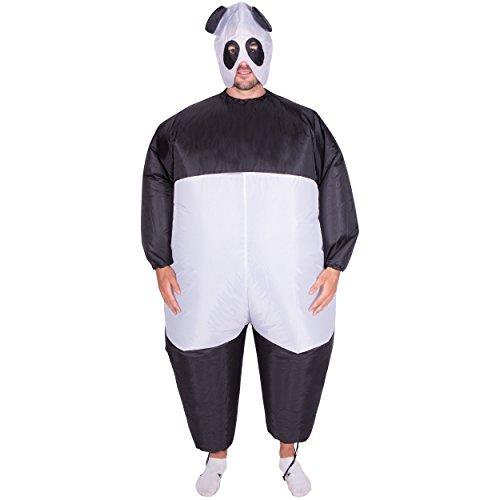 Bodysocks® Aufblasbares Panda Kostüm für Erwachsene