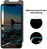 Ntech Apple iPhone X/Xs Privacy Screenprotector Glass Anti Spy
