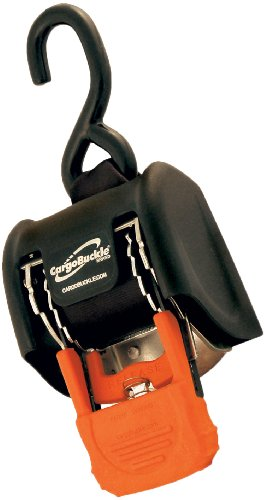 CargoBuckle F18800 G3 Retractable Ratchet Tie-Down System, 2-Pack