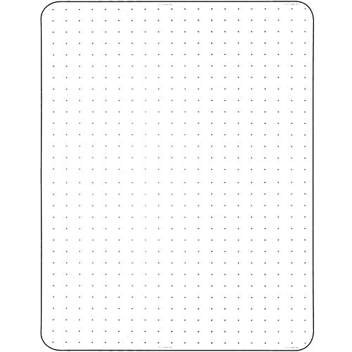 Office Chair Mat for Carpeted Floors Polycarbonate Transparent for Rolling Desk Computer Chairs Low and Medium Pile Carpets 36 X 48 X1/8 Rectangular Heavy Duty Thick and Sturdy Shipped Flat