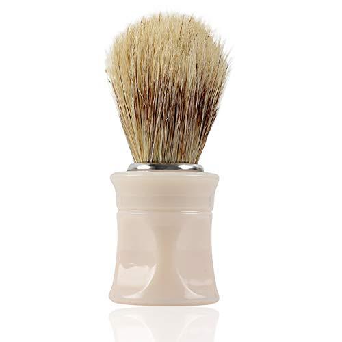 Titania Blaireau, manche en cheveux, beige, sur carte blister, 1er Pack (1 x 37 g)