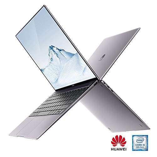 HUAWEI Matebook X PRO, MACH-W19 13.9 Inch Laptop (Grey) 3k TouchScreen- 35.3 centimeters LCD Laptop - Intel 8th Generation i5-8250U 1.8 GHz, 8 GB RAM, 256GB SDD,Windows 10 Home