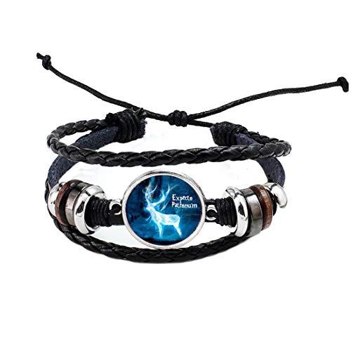 Pulsera de regalo de Navidad para hombres y mujeres, con diseño de ciervos, pulsera BFF, pulsera delicada, PU162