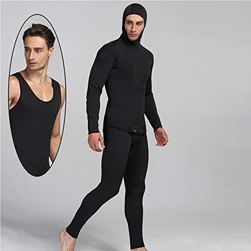 TSSM Duikpak split dik stretch team mannen koude uitgebreide bescherming duiken surfen zwemmen water ski capuchon pak