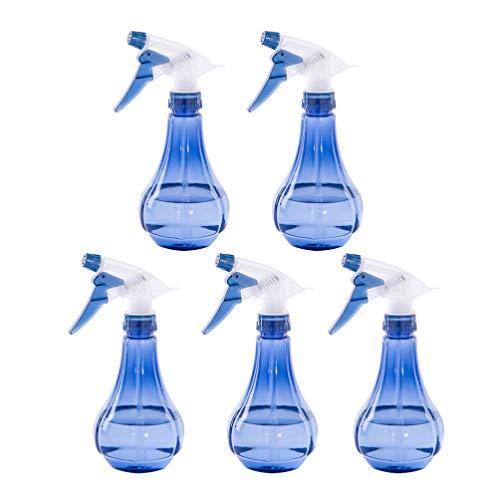Exceart 2 leere Kunststoff-Sprühflaschen Handdrucksprühdüse Zerstäuber Sprühflasche Nachfüllbar Sprinkle Container für Garten Zimmerpflanzen Blumen
