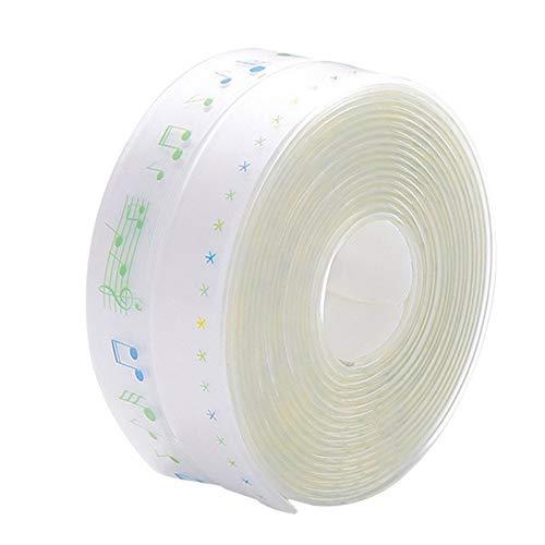 JsJr-K-In Tiras de velcro con adhesivo, cinta impermeable, cinta de sellado impermeable, PVC impermeable, 1 rollo de cinta adhesiva impermeable para cocina