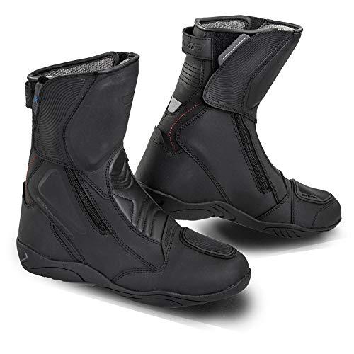 SHIMA Terra Lady - Botas de moto impermeables para mujer, color negro, talla 38