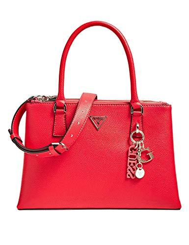 Guess Becca - Bolso para mujer (35 cm), color rojo