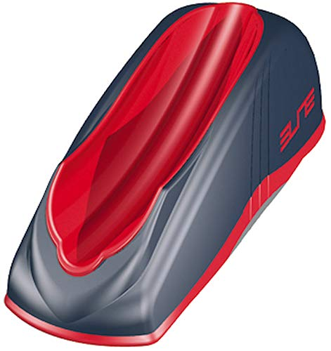 Elite_1 Travel Gel Block Rollentrainer in Rot/Grau One Size