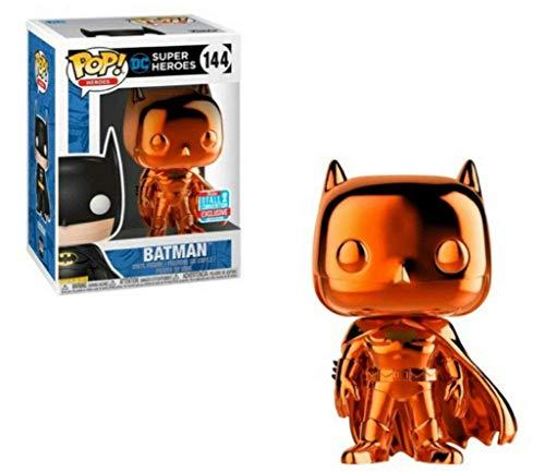 Funko Pop Vinilo DC Heroes: Orange Chrome Batman #144, L