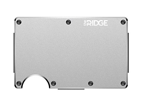 The Ridge Wallet Aluminium Raw Cash Strap | Geldband | Geldbörse RFID sicher