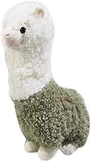 TOOGOO Funny Cartoon Plush Alpaca Animal Shape Bag Spoof Fashion Shoulder Bag Women'S Messenger Bag Girls Cute Flap Bag,Green