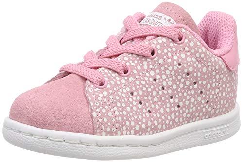 adidas Stan Smith El I, Sneaker Unisex Bimbo, Rosa (Light Pink/Light Pink/Ftwr White Light Pink/Light Pink/Ftwr White), 21 EU