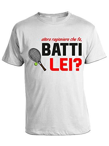 bubbleshirt Tshirt Film Cult Anni '80 Allora Ragioniere Che Fa, batti lei?