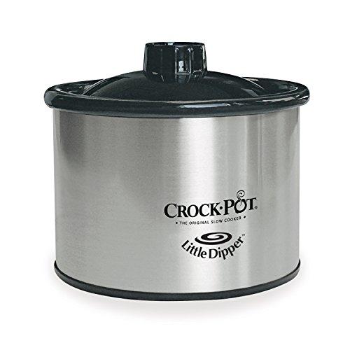 Crock-Pot 16-Ounce Little Dipper, Chrome