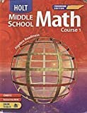 Holt Middle School Math Course 1 Tennessee Edition