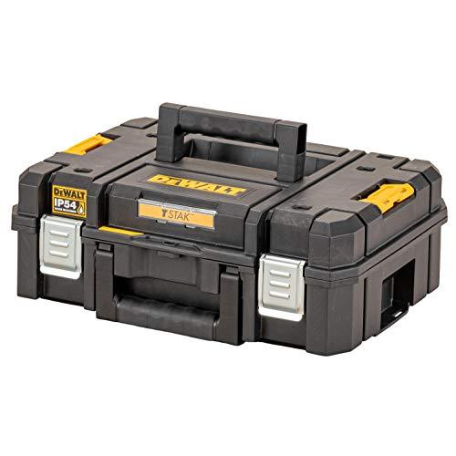 Dewalt DWST83345-1 - Caja de herramientas II (24 L, relleno de espuma compacta, se puede combinar con otras cajas TSTAK, almacenamiento seguro de herramientas eléctricas y de mano, IP54)