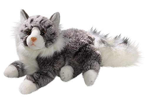 Cat, Maine Coon, 12 inches, 30cm, Plush Toy, Soft Toy, Stuffed Animal 3202