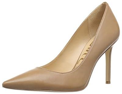 Sam Edelman Women's Hazel Dress Pump, Golden Caramel Leather, 9 Narrow US