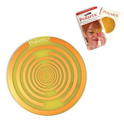 Polarix© - Schmerzen lindernde Scheibe | Chakren-Therapie | Alternative Medizin zur Linderung von Schmerzen im Vergleich zu heilenden Energiesteinen und Schmerzpflaster | D 80 mm | Tesla Design
