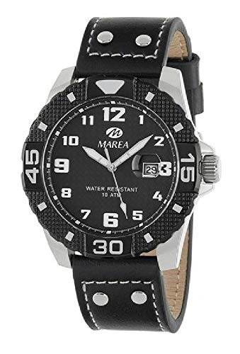 Reloj Marea Hombre B35315/1 Piel Negra.